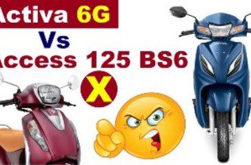 Honda-Activa-6G-Vs-Access-125-BS6