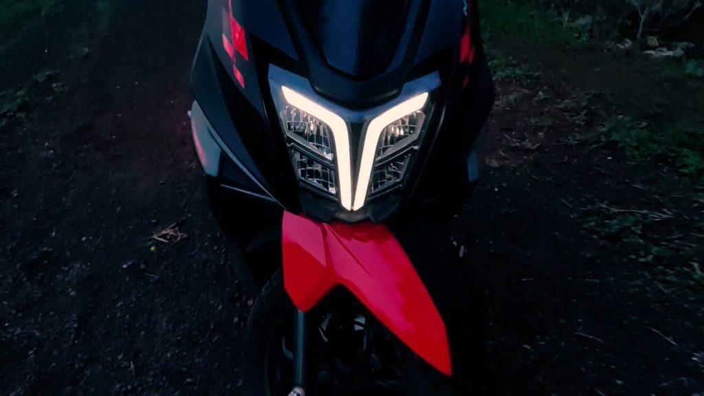 Headlamp-TVS-Ntorq